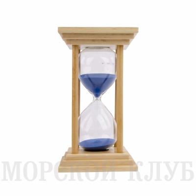часы песочные синие 60мин