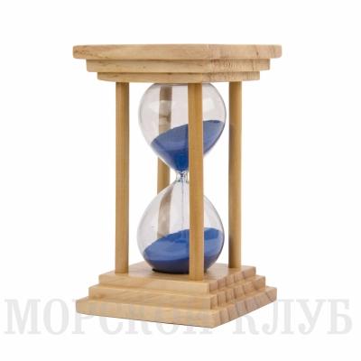 часы песочные синие 10мин