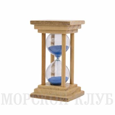 часы песочные синие 5мин
