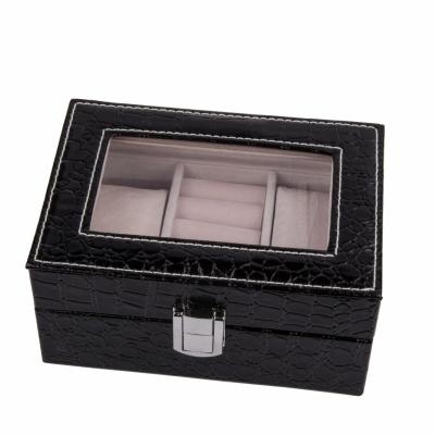 шкатулка для украшений черная 15,5см
