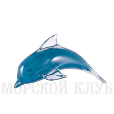 дельфин зеленый 14,5см