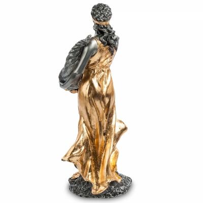 статуэтка фортуна - богиня удачи с позолотой (veronese)
