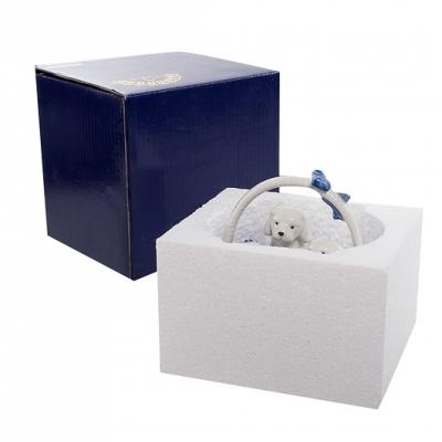 фигурка щенки в корзинке (pavone)