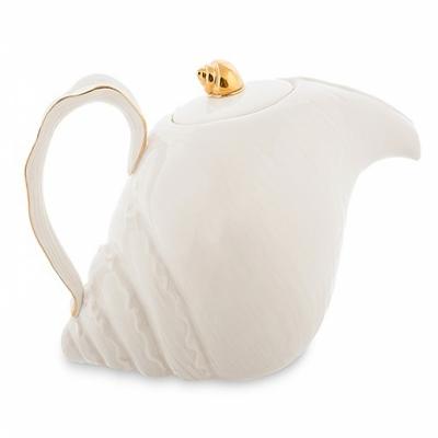 заварочный чайник с рыбками морская ракушка (pavone)