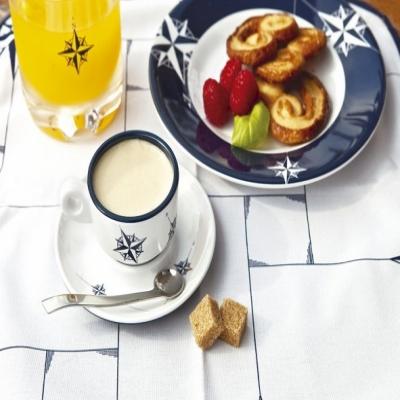 чашки для эспрессо с блюдцами northwind, 6 шт