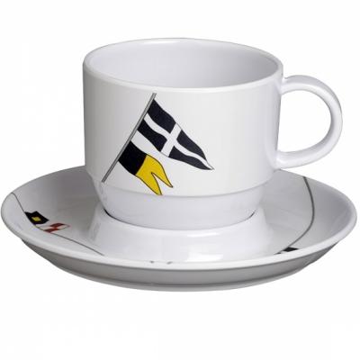 Чашки чайные с блюдцами  REGATA, набор 6 шт.