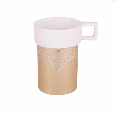 чашка amber бежевая