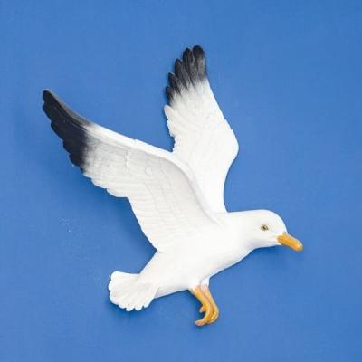 Чайка настенная 12*26*18см