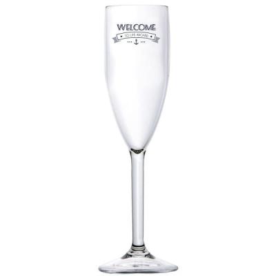 Бокалы для шампанского Welcome to life 6шт