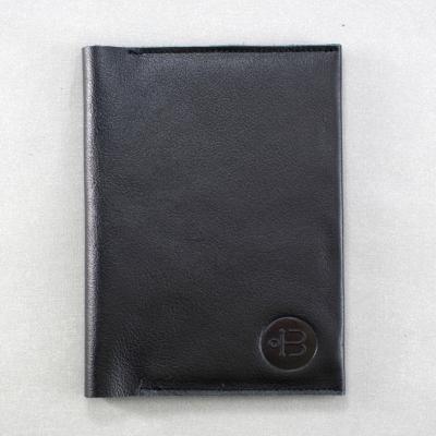 обложка паспорт чайка черная