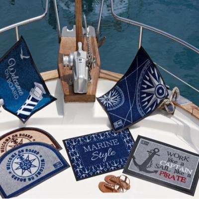 коврик на нескользящей основе marine style (marine business)
