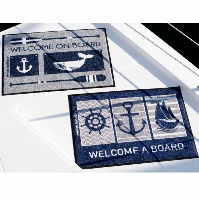 Коврик противоскользящий с морским логотипом