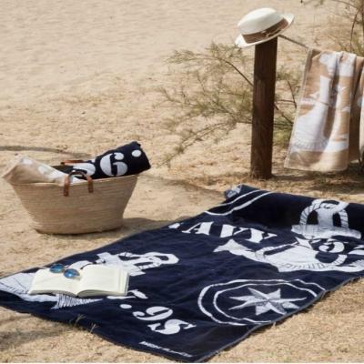 палубное полотенце blue navy (marine business)
