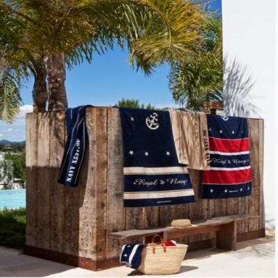 палубное полотенце «royal» red (marine business)