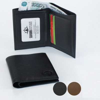 портмоне cash-box коричневый