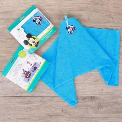 Детское махровое полотенце с Микки Маусом