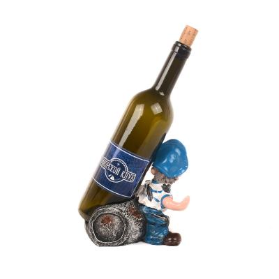 Подставка для бутылки Боцман 16см стимпанк