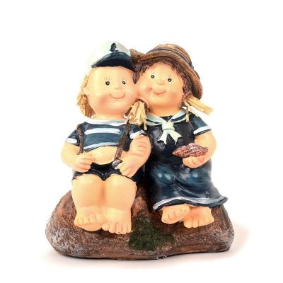 Статуэтка моряка и морячки декоративная