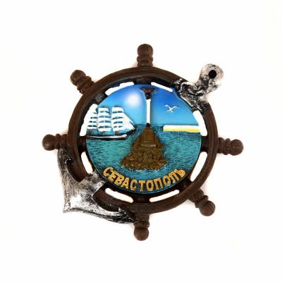 Магнит Севастополь Штурвал