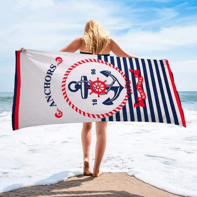 Полотенце пляжное ANCHORS 70*140см