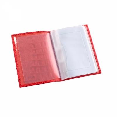 бумажник водителя кайман красный