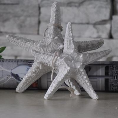 Подвесная Морская звезда 13см белая