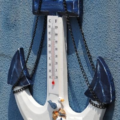 Термометр вешалка Якорь 32см