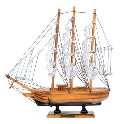 Корабль с парусами 30см