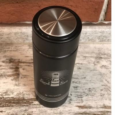 Термос для чая черный Маяк 400мл