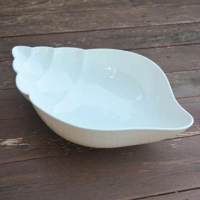 Салатница Ракушка керамика 35*22см