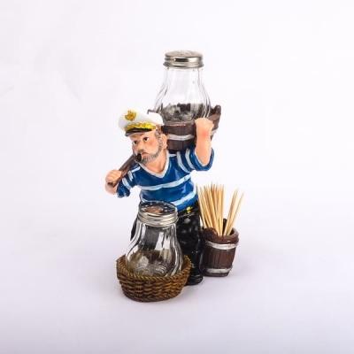 Набор для специй Морячок в синей тельняшке