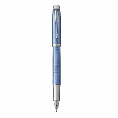 ручка перьевая parker im premium blue ct