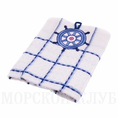 полотенце штурвал вафельное 47*67см