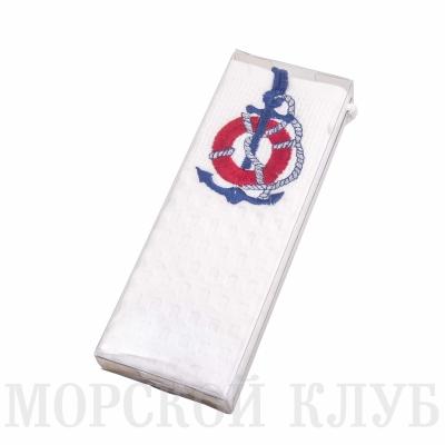 полотенце спасательный круг вафельное 47*67см
