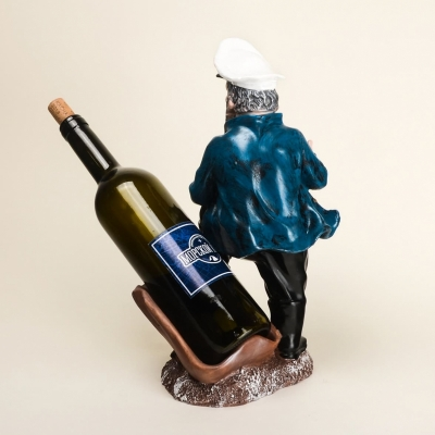 Подставка для бутылки Моряк 33см