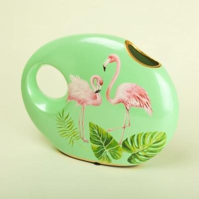 Ваза Фламинго керамика 29*23см