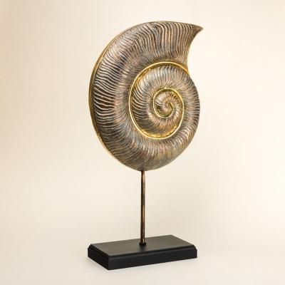 Ракушка декоративная на подставке 53см