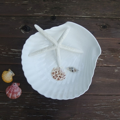 Тарелка Ракушка керамика 26*25см