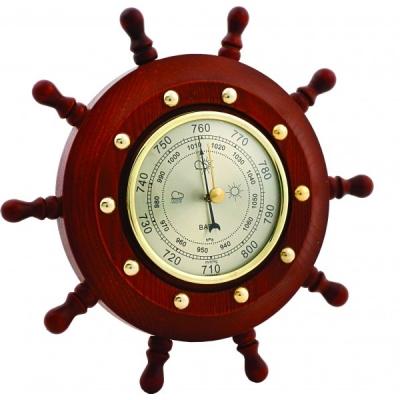 барометр настенный штурвал 21,5см