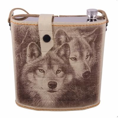 фляга волки 1,5л