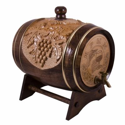 бочонок виноградная лоза с колбой
