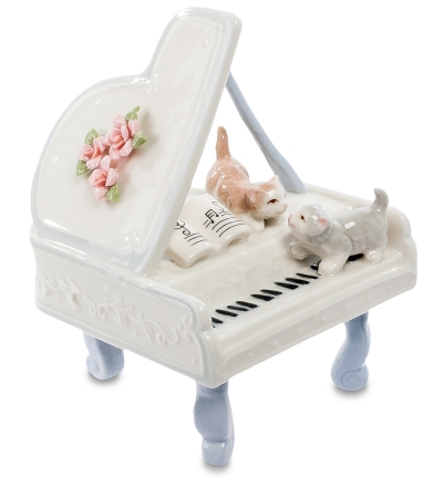 статуэтка котята на рояле (pavone)