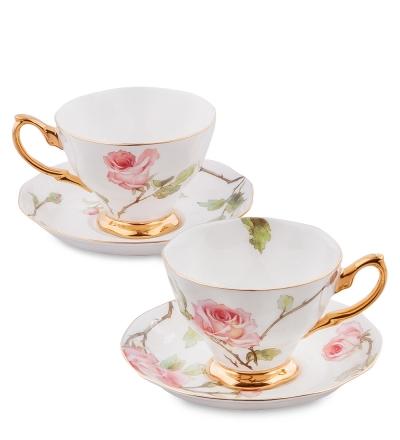 чайный набор итальянская роза на 2 персоны (pavone)
