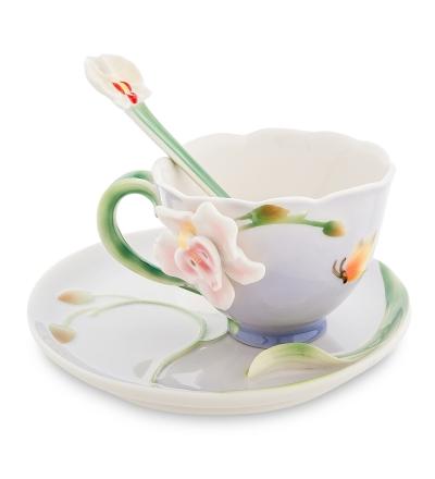 чайная пара прекрасная орхидея (pavone)