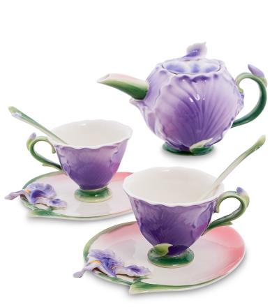 чайный набор ирис на 2 персоны (pavone)