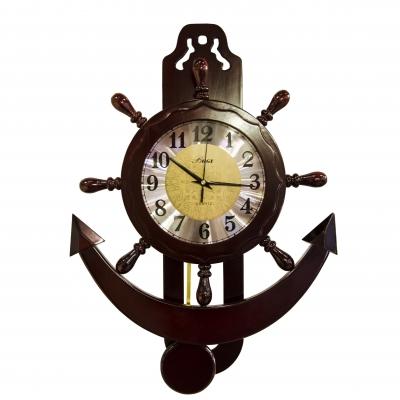 часы-якорь настенные 63см