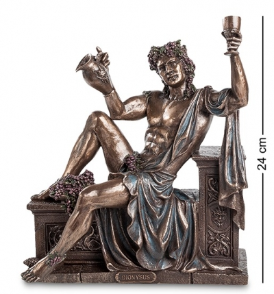 статуэтка дионис - бог виноделия и веселья (veronese)