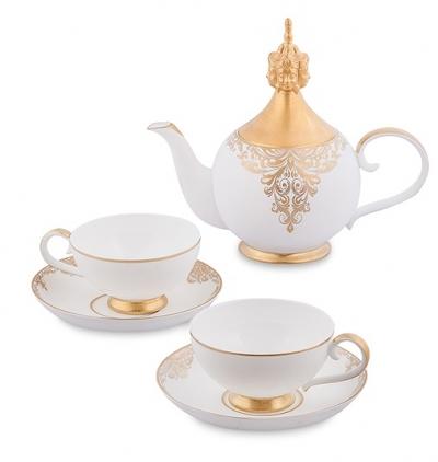 чайный набор гармония на двоих на 2 персоны (pavone)