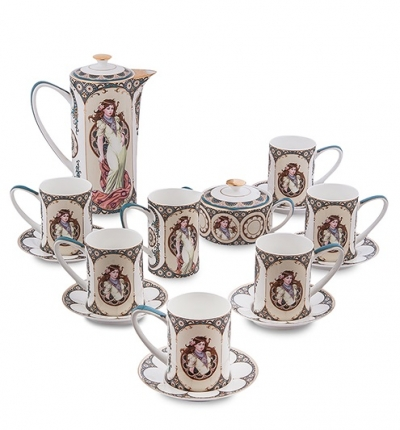чайный сервиз габриэлла на 6 персон (pavone)