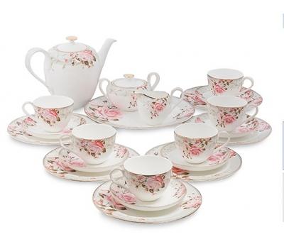 чайный сервиз монте-роза на 6 персон (monte rosa pavone)